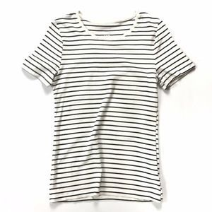 A New Day Striped Stretchy Cotton T-shirt :191